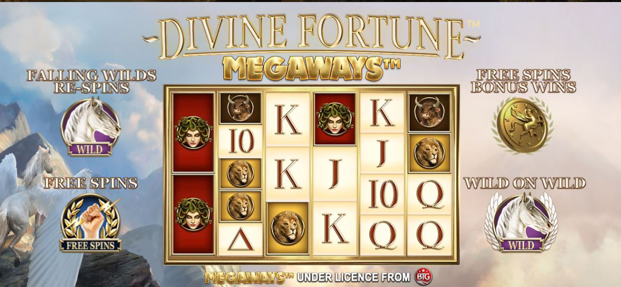 Divine Fortune Megaways REVIEW